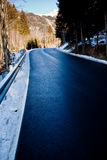 Route de montagne d'automne images libres de droits