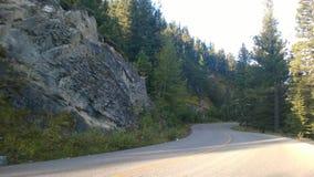 Route de montagne d'enroulement Photographie stock