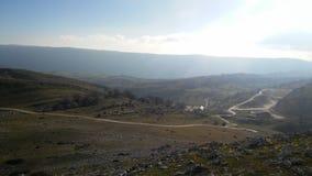 Route de montagne d'Urbasa Image stock