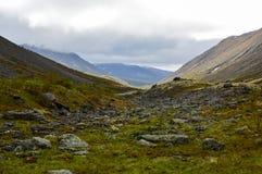 Route de montagne dans Hibiny photographie stock