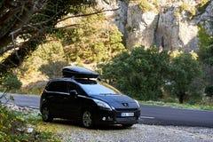 Route de montagne dans les Frances Photographie stock