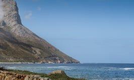 Route de montagne de baie de Gordons Photos stock