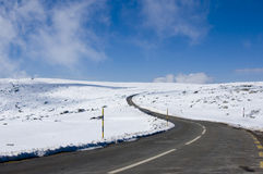 Route de montagne de Milou Photographie stock libre de droits