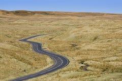 Route de Moorland photographie stock