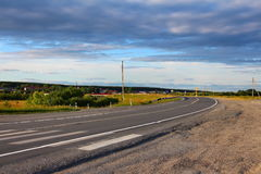 Route de moteur Photographie stock libre de droits