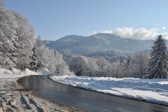 Route de Mounain Image libre de droits