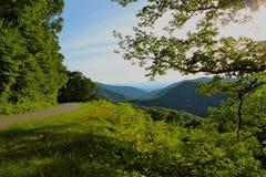 Route de Moutain Photo libre de droits