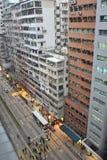 Route de Nathan à Hong Kong Photos libres de droits