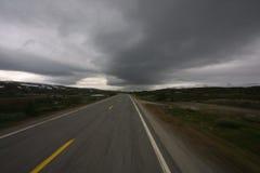 route de nature à Photos libres de droits