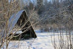 Route de neige Photos libres de droits