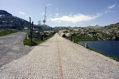 Route de passage de Gotthard, Tessin, Suisse Image stock