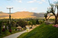 Route de paysage Images stock