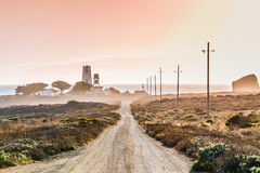 Route de phare Images stock