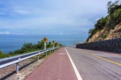 Route de plage Image libre de droits