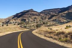 Route de région de Foree Photographie stock