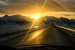 Route de Ramberg Image libre de droits