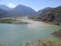 Route de renommée mondiale - Turquie centrale Photo stock