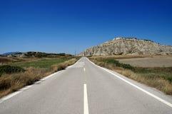 Route de Rhodes Image stock