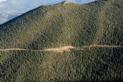 Route de Ridge de journal Photo stock