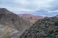 Route de rivière de Vierge Photographie stock