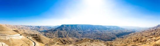 route de rois de la Jordanie images stock