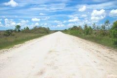 Route de roue de chariot Images libres de droits