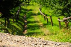 Route de route de route Photographie stock libre de droits
