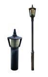 Route de rue de courrier de lampe Image libre de droits