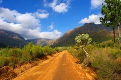 Route de sable Photo stock