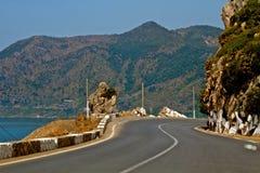 Route de saillie Image stock