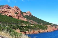 Route de Saint-Barthélemy, France Royalty Free Stock Images
