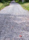 route de Saleté-pierre Images libres de droits