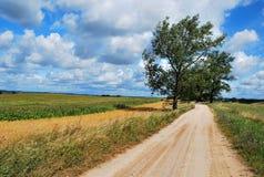 Route de Sandy Images libres de droits