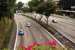 Route de Singapour Images stock