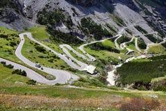 Route de Stelvio photos libres de droits
