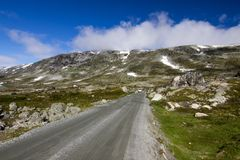 Route de Strynefjellet en Norvège Photos stock