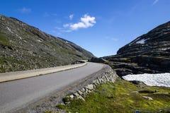 Route de Strynefjellet en Norvège Images stock