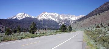 Route de Tioga Images stock