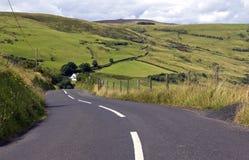 Route de torr et Carnanmore, le comté d'Antrim Image stock
