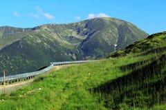 Route de Transalpina, Alpes de Transylvanian, Roumanie Photographie stock libre de droits