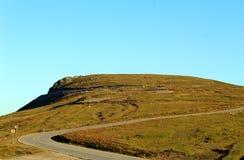 Route de Transalpina en Roumanie image stock