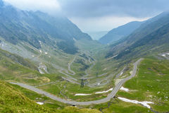 Route de Transfagarasan Photo libre de droits