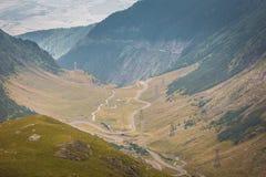 Route de Transfagarasan, une des plus fine au monde Photographie stock libre de droits