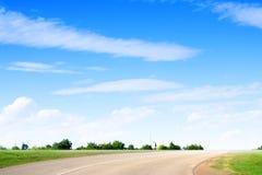 Route de véhicule Image stock