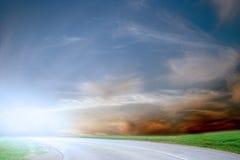 Route de véhicule Image libre de droits