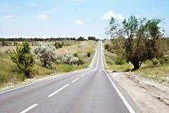 Route de véhicule Photo libre de droits