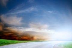 Route de véhicule Images libres de droits