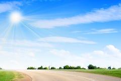 Route de véhicule Photographie stock