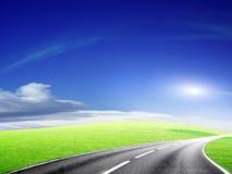 route de véhicule Photos libres de droits