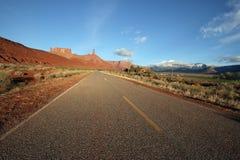Route de vallée de château Photo libre de droits